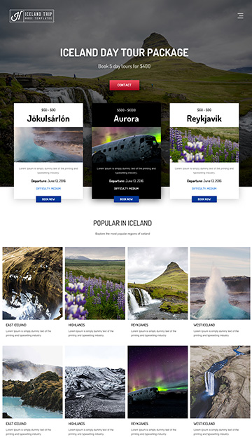 Moon responsive muse templates for photographers and designers apollo 6 pronofoot35fo Images